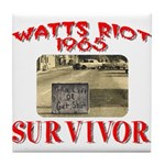 1965 Watts Riot Survivor Tile Coaster