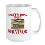 1965 Watts Riot Survivor Large Mug