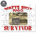 1965 Watts Riot Survivor Puzzle