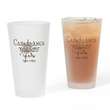 Casablanca Drinking Glass