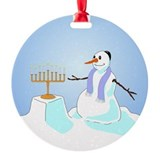 Happy Hanukkau Ornament (Round)