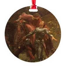 Dicksee La Belle Dame Ornament (Round)