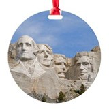 Rushmore 1682 Ornament (Round)