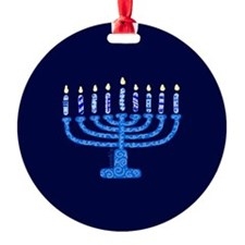Chanukah Ornament (Round)