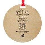 Romeo & Juliet Quarto (1599) Ornament (Round)
