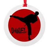 Daniel Martial Arts Ornament (Round)
