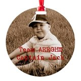 Team ARRGH!!! Ornament (Round)
