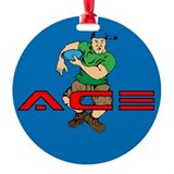 The Original Ace Ornament (Round)