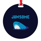 Jawsome Shark Ornament (Round)