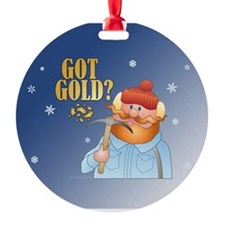 Got Gold Ornament (Round)