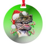 Dino Ornament (Round)