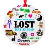 LOST Memories V2 Ornament (Round)