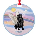 Angel Sharp Pei Walter CUSTOM Ornament (Round)