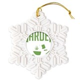 Carrie 2011 Martial Arts Green Belt Ornament