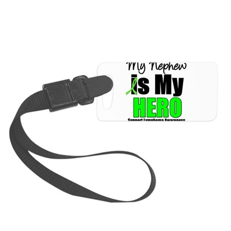 lymphomaheronephew.png Small Luggage Tag