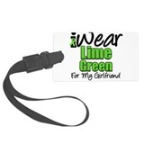 iwearlimegreen11girlfriend.png Luggage Tag