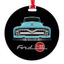 Ford F-100 Ornament (Round)