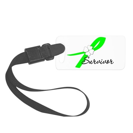 lymphomasurvivor.png Small Luggage Tag