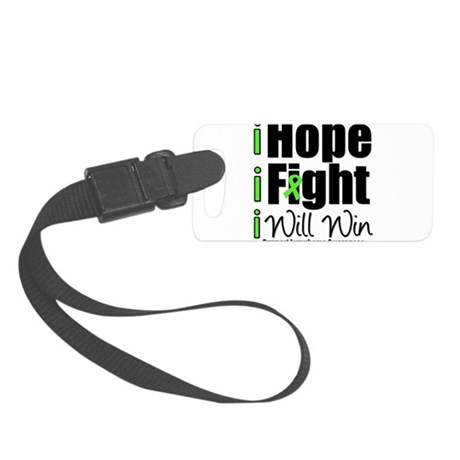 ihopefightwillwinlymphoma.png Small Luggage Tag