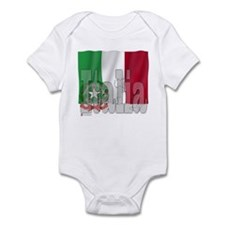 Silky Flag of Italia Infant Creeper