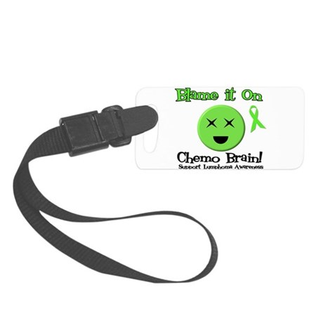 Blame Chemo Brain Small Luggage Tag