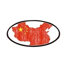 China Flag And Map Patches