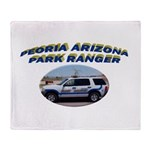 Peoria Ranger Throw Blanket