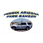 Peoria Ranger 35x21 Wall Decal