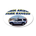 Peoria Ranger 20x12 Oval Wall Decal