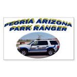 Peoria Ranger Sticker (Rectangle 50 pk)