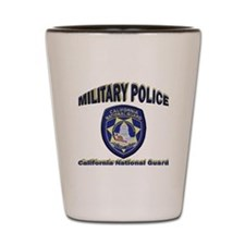 California National Guard MP Shot Glass