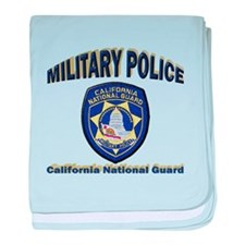 California National Guard MP baby blanket