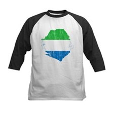 Sierra Leone Flag And Map Tee