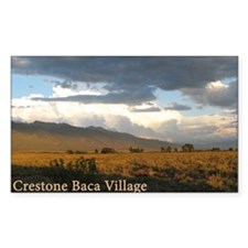 Crestone Baca Village Decal
