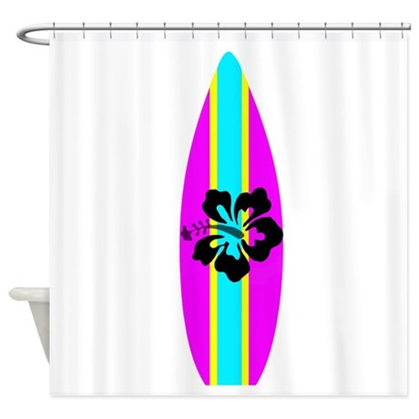 Download HD Wallpapers Surfboard Shower Curtain