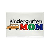 Kindergarten Mom Rectangle Magnet (100 pack)