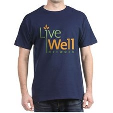 Live Well Network Dark T-Shirt