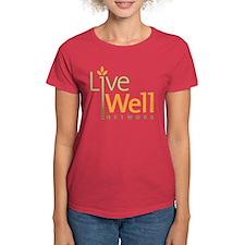 Live Well Network Women's Dark T-Shirt