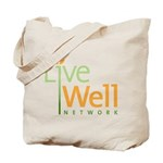 Live Well Network Tote Bag