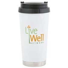 Live Well Network Ceramic Travel Mug
