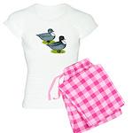 Blue Call Ducks Women's Light Pajamas