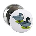 """Blue Call Ducks 2.25"""" Button"""