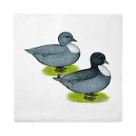 Blue Call Ducks Queen Duvet