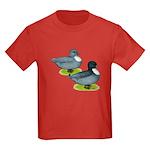 Blue Call Ducks Kids Dark T-Shirt