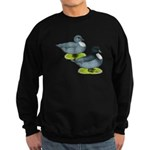 Blue Call Ducks Sweatshirt (dark)