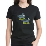Blue Call Ducks Women's Dark T-Shirt