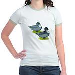 Blue Call Ducks Jr. Ringer T-Shirt