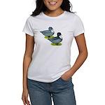 Blue Call Ducks Women's T-Shirt