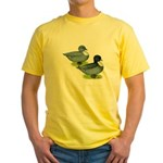 Blue Call Ducks Yellow T-Shirt