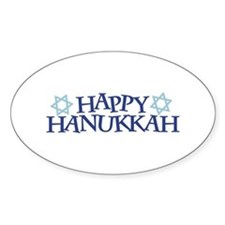Happy Hanukkah Decal